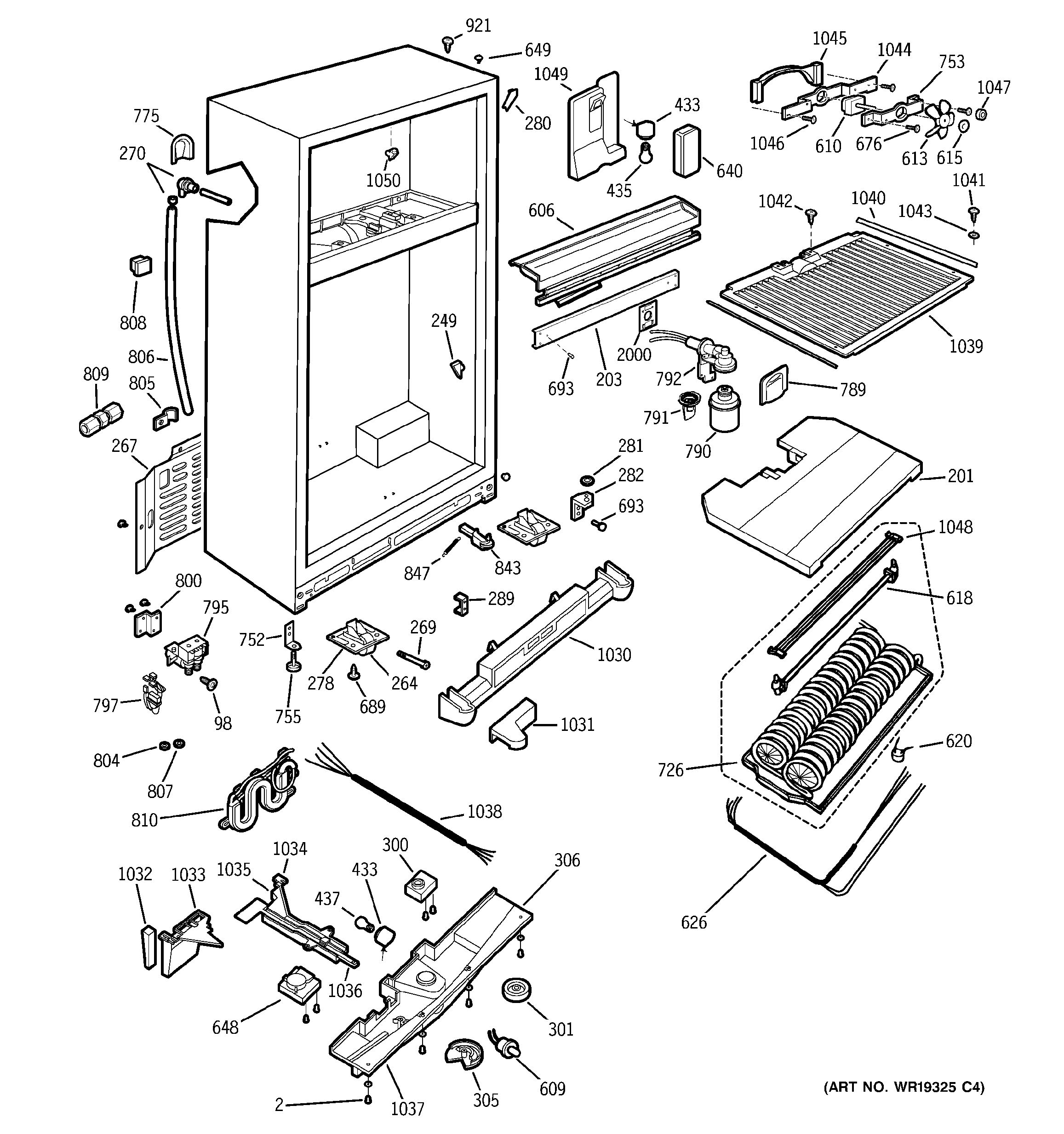 Assembly View For Cabinet