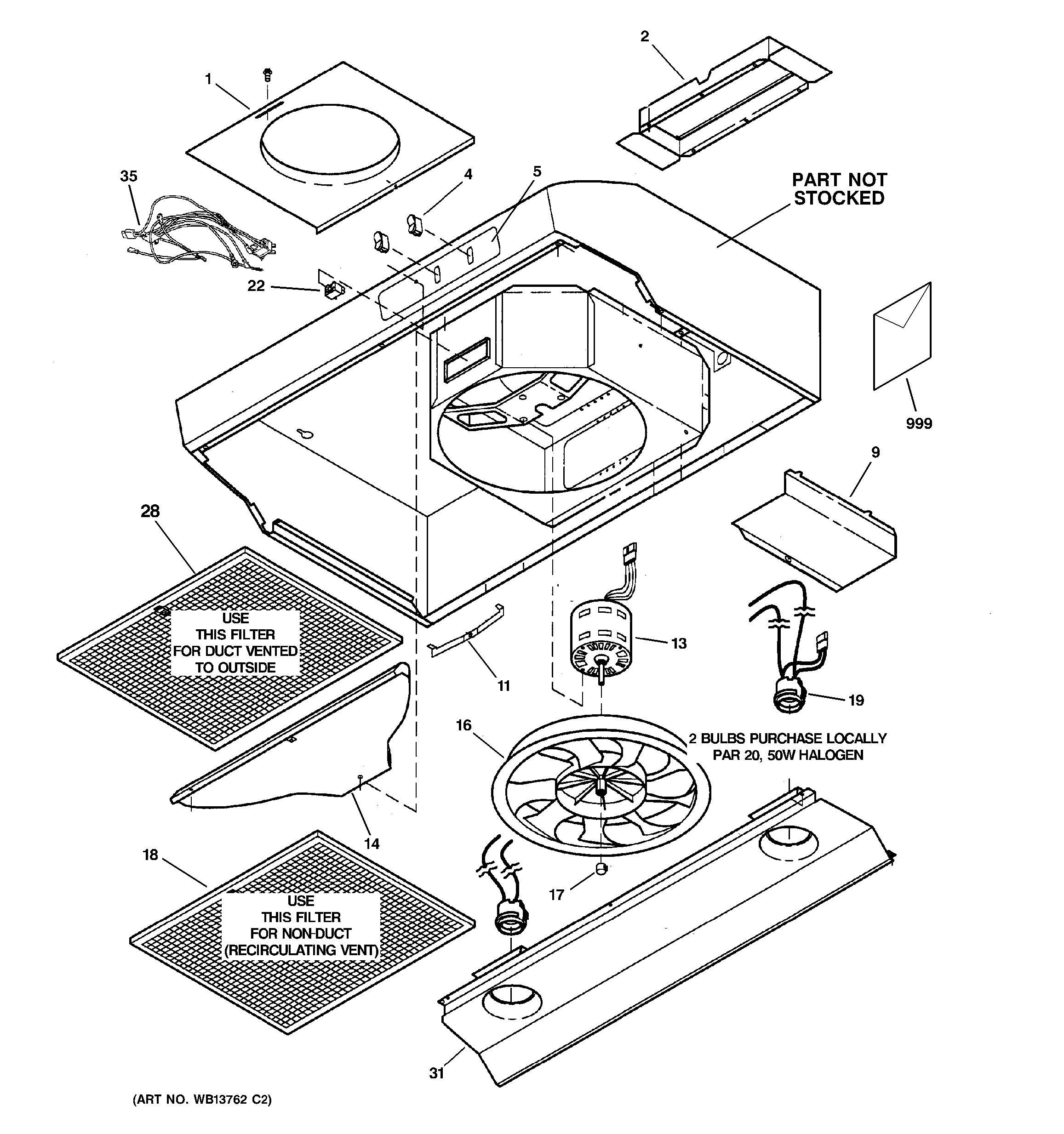 ge microwave parts list