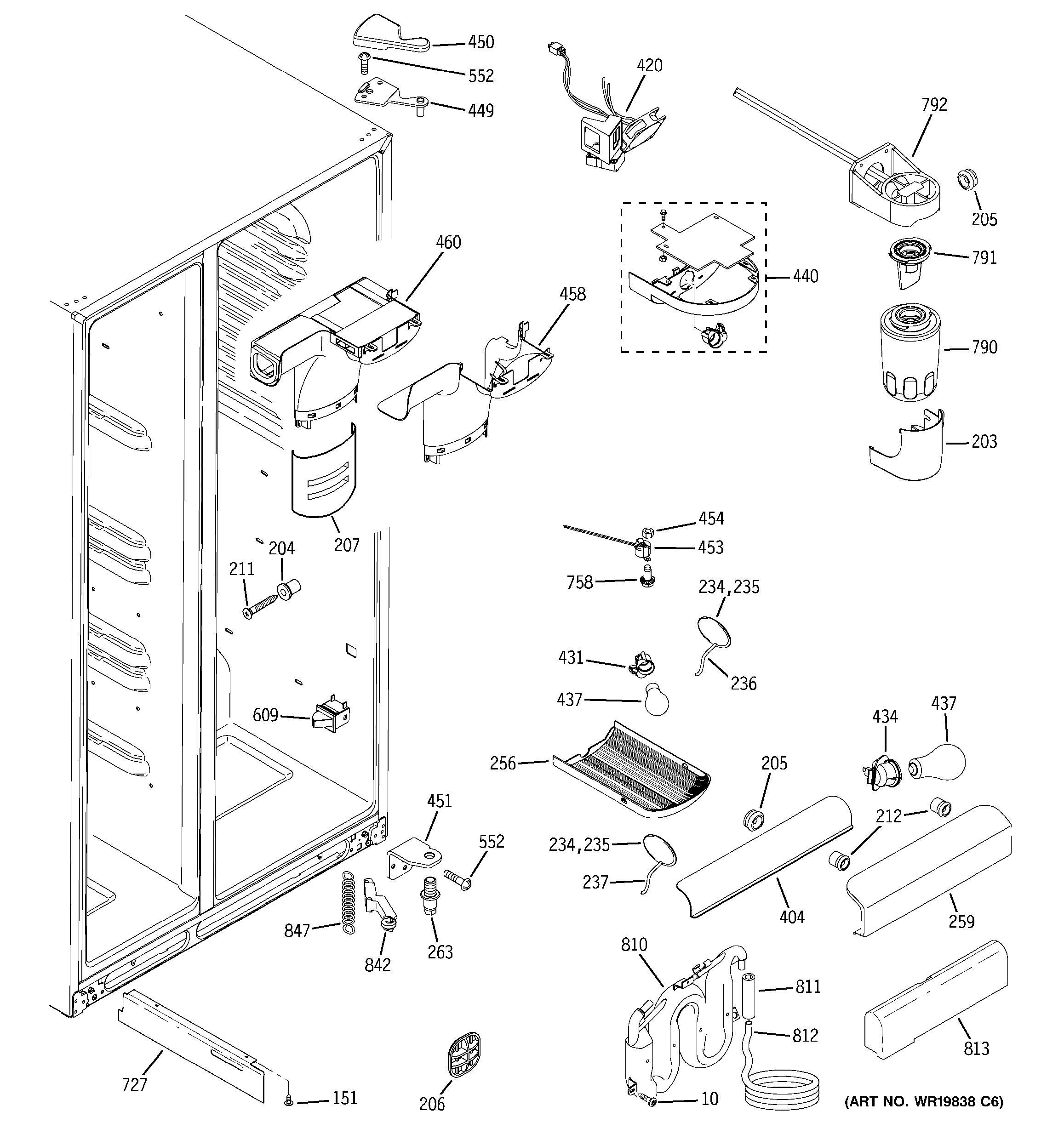 gsh25jsrf ss general electric refrigerator wiring diagram    wiring on  ge dishwasher wiring schematic,