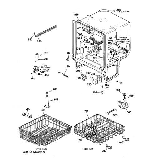 model search gsd3420z00bb rh geapplianceparts com Discontinued GE Dishwasher Potscrubber 1998 ge adora potscrubber dishwasher parts