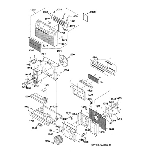 Ge Air Conditioner Schematic