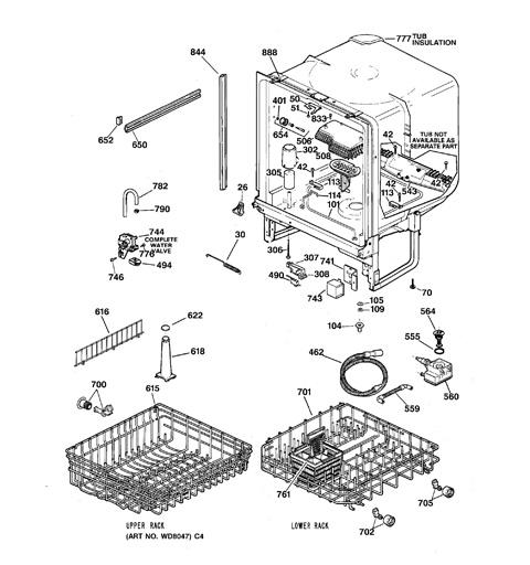 ge profile dishwasher manual pdw7880