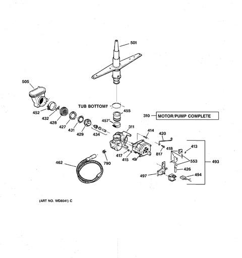 model search gsd3420z02bb rh geapplianceparts com GE Potscrubber 650 Dishwasher Parts GE Potscrubber 650 Dishwasher Parts