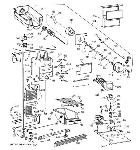Ge Refrigerator Model 25 Schematic | Wiring Diagram on