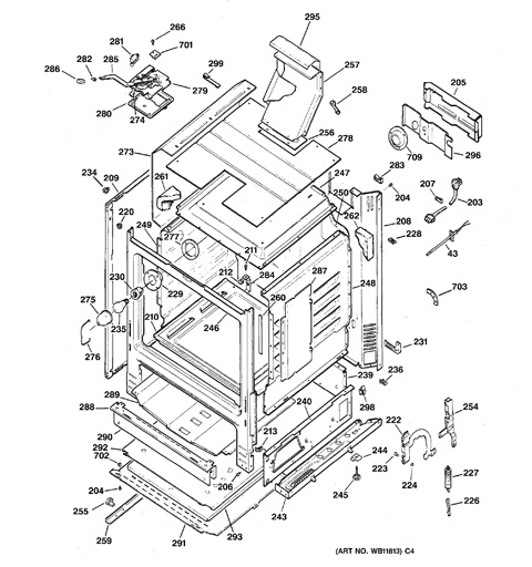 35 Hotpoint Oven Parts Diagram
