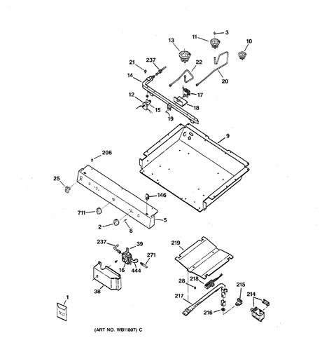 Ge Xl44 Parts Diagram