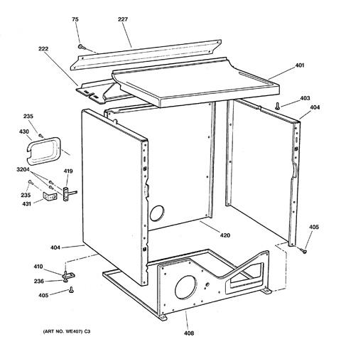 Model Search   DBXR453EA1WW   Ge Dryer Dbxr453ea1ww Wiring Diagram Electric      GE Appliances Parts and Accessories