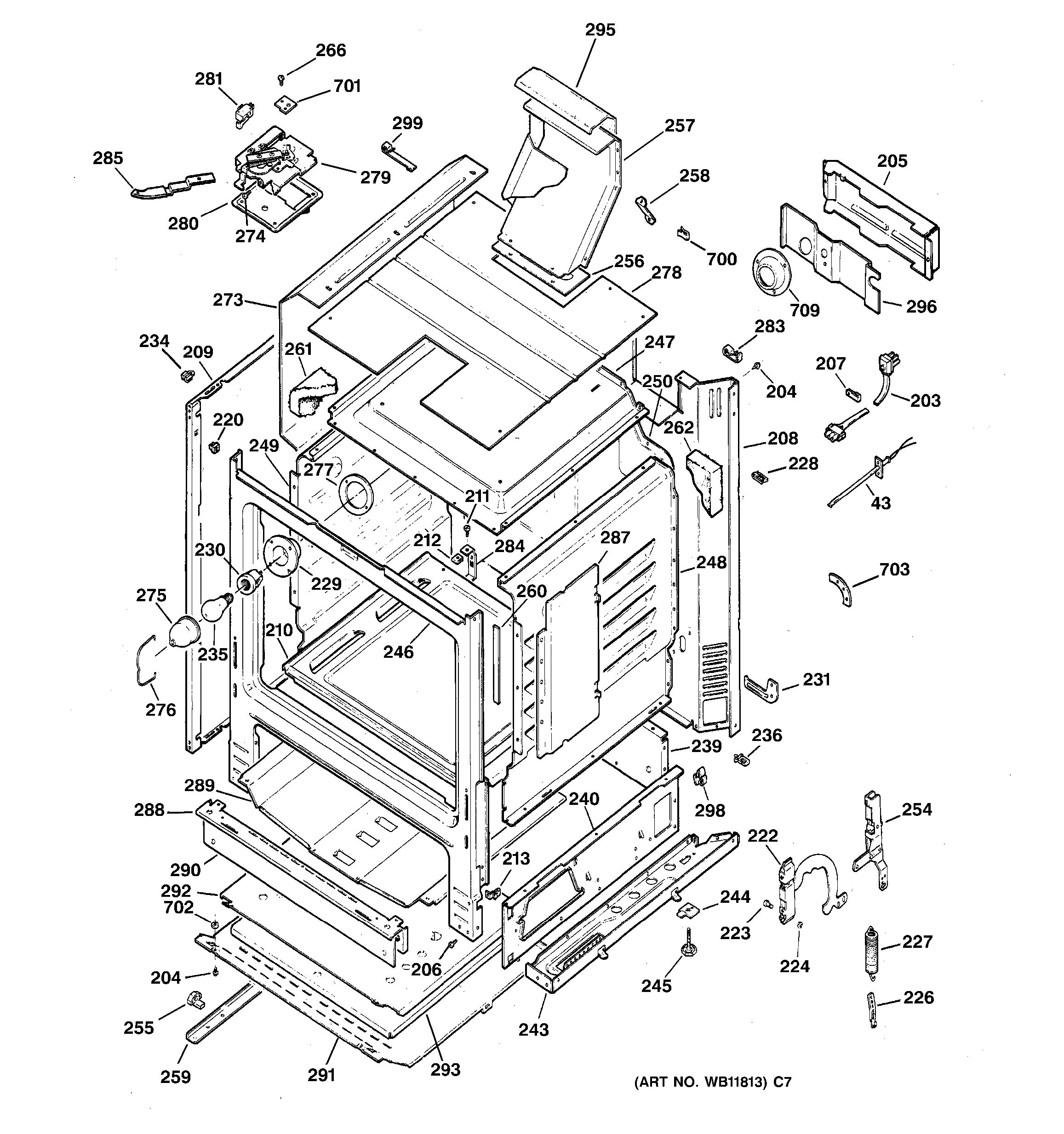 Model Search Jgbp30aea5aa Ge Spectra Oven Wiring Diagram Body Parts
