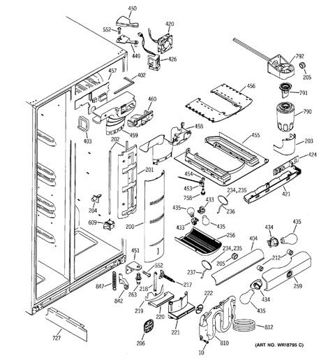 Kitchen Refrigerator Layout