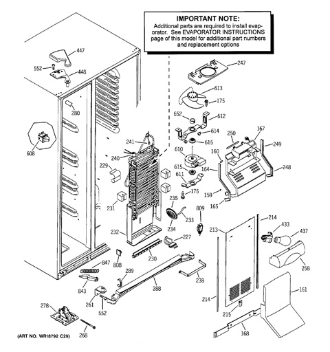 Refrigerator Wiring Diagram Ge Pss25sgna Bs