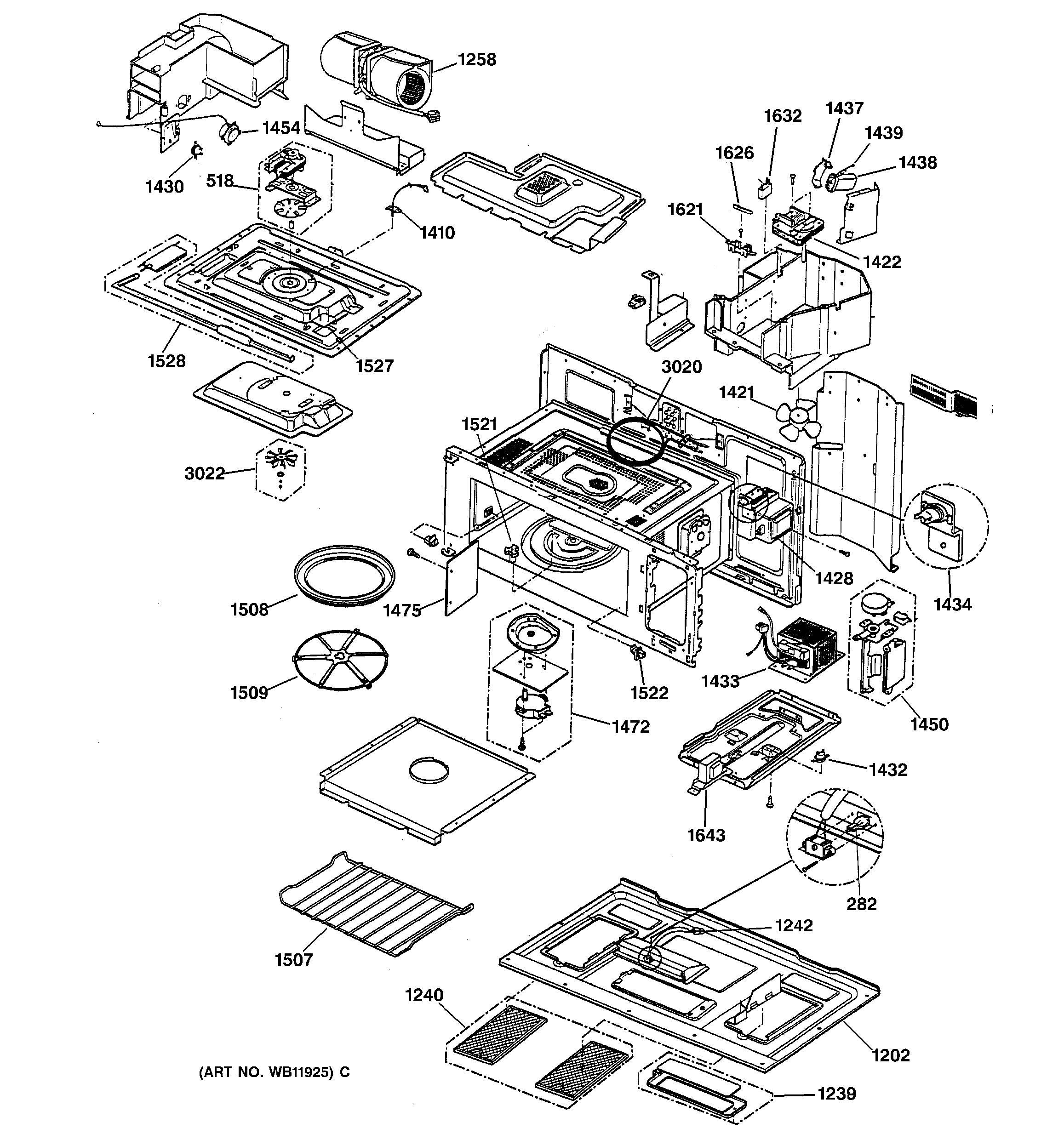 Assembly View For Unit Parts  U0026 Base