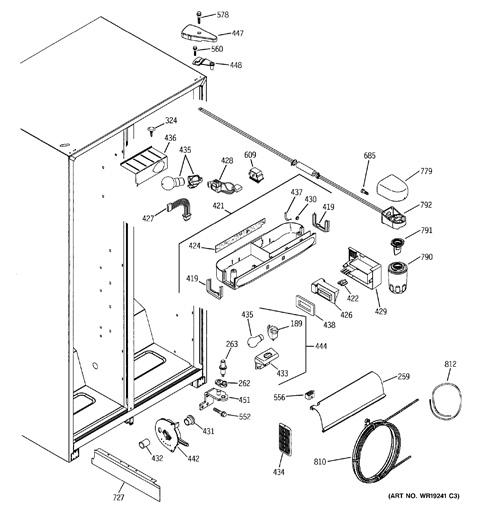 Ge Refrigerator Schematics - 30 | Ge Refrigerator Wiring Diagrams Gss25wstss |  | 30 30