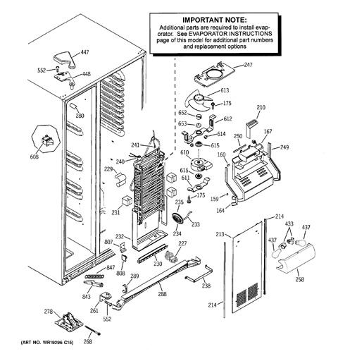 Pss26 Ge Refrigerator Wiring Diagram - Wiring Diagrams Folder on