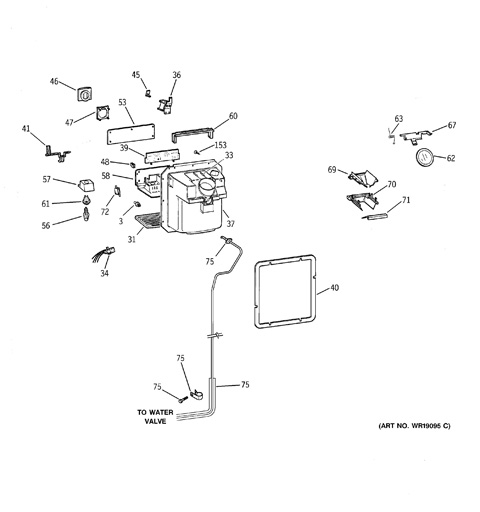 Primo Water Dispenser Parts Diagram furthermore 07 Fountain Parts For Maytag Msd2359keq as well PTC22SFMALBS further Ge Refrigerator Wiring Diagram moreover Wiring Diagram Gasoline Portable Generator. on ge profile refrigerator water dispenser diagram