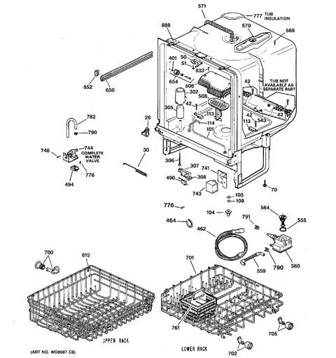 [SCHEMATICS_43NM]  Model Search | GSD3200J00WW | Wiring Diagram Ge Nautilus Dishwasher |  | Appliance Parts, Accessories & Water Filters