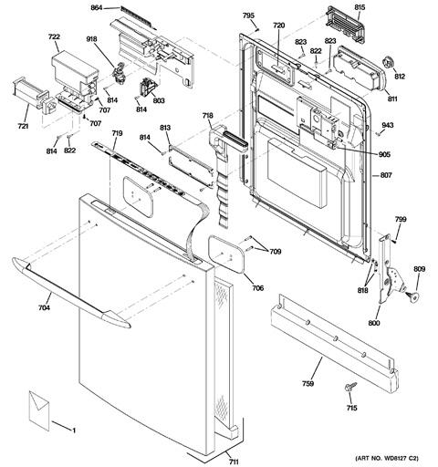 Ge Dishwasher Keypad Wiring Diagrams | schematic diagram on