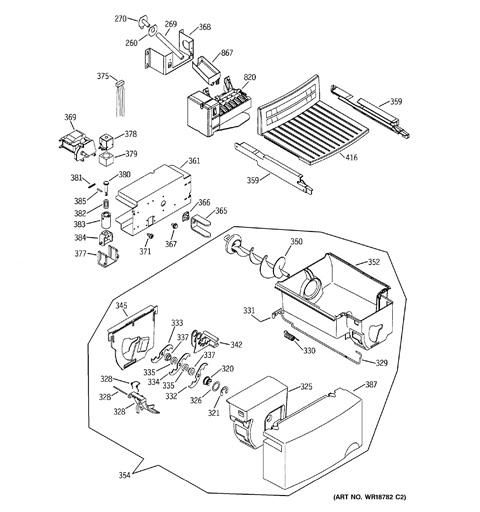 Gss25kgmb Ice Maker Wiring Diagram