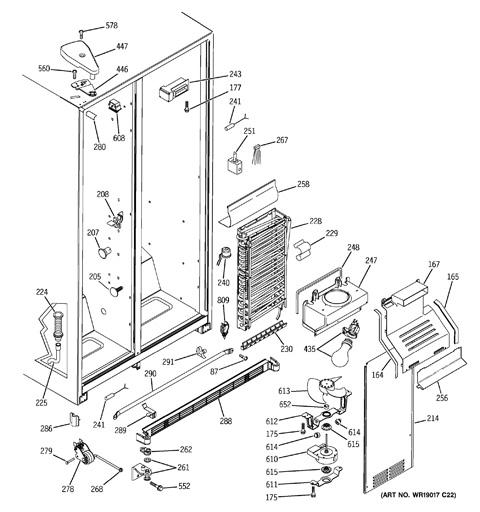 Ge Refrigerator Schematic Diagram Gshf Hgdccc on