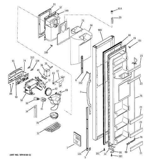ge gss22 refrigerator wiring schematic club car kawasaki