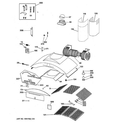 ge monogram range hood repair and wiring diagram   48