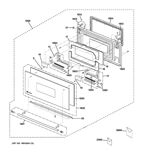 Ge Advantium Oven Replacement Parts Circuit Diagram Maker