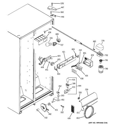 Gss25jsress Ge Refrigerator Wiring Diagram