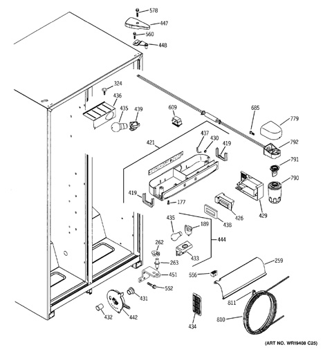Ge Refrigerator Schematic