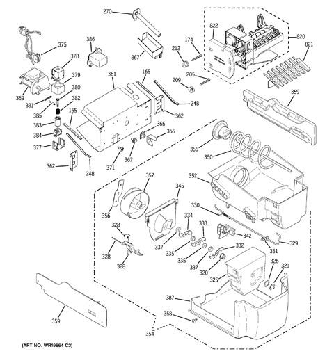 Ge Gshs5kgx Refrigerator Water Line Diagram