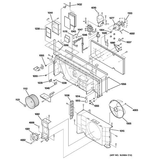 model search az38h15dabm1 rh geapplianceparts com ge zoneline wiring diagram ge ptac installation manual