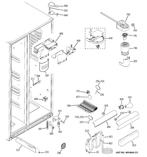 Model Search | GSS25WSTASS | Ge Refrigerator Wiring Diagrams Gss25wstss |  | GE Appliances Parts and Accessories