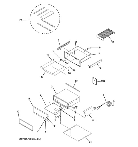 ge profile warming drawer instructions