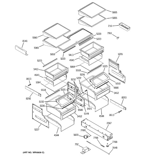 model search zics360nrgrh shelves drawers