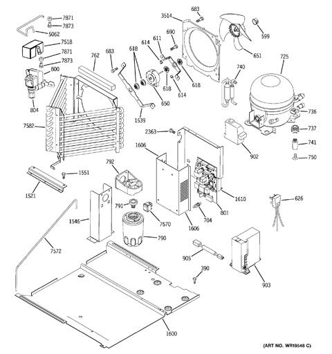 sealed system & mother board