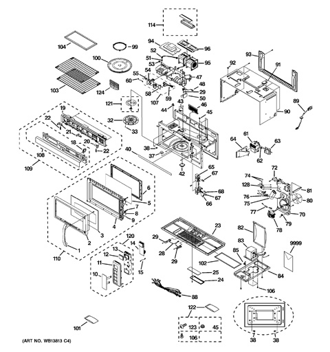 Ge Spacemaker Xl1800 Parts Diagram Engine Diagram And