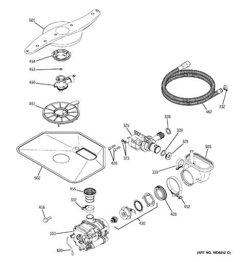 Model Search – Diagrams Dishwasher Wiring Ge Gsd530x