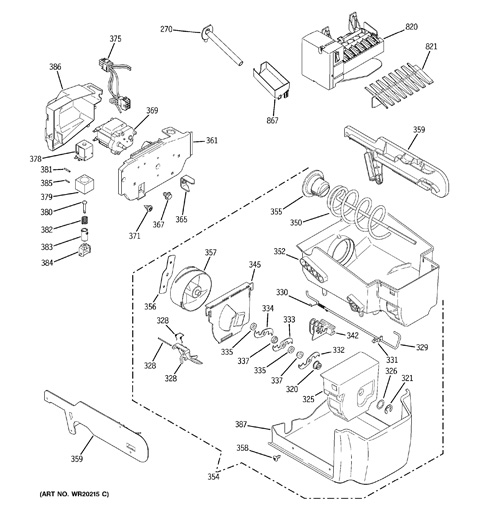 Ge Refrigerator Wiring Diagram Pss26msw. . Wiring Diagram on