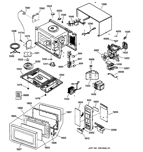 microwave parts diagram  u2013 bestmicrowave