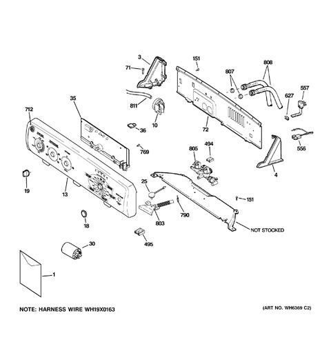 ge hydrowave washer diagram