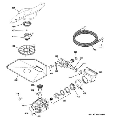 model search gld4406r00bb rh geapplianceparts com GE 500 Dishwasher Repair Diagram GE Triton Dishwasher Diagram