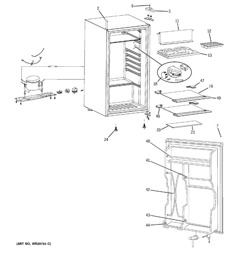 haier mini fridge parts. refrigerator parts haier mini fridge parts 8