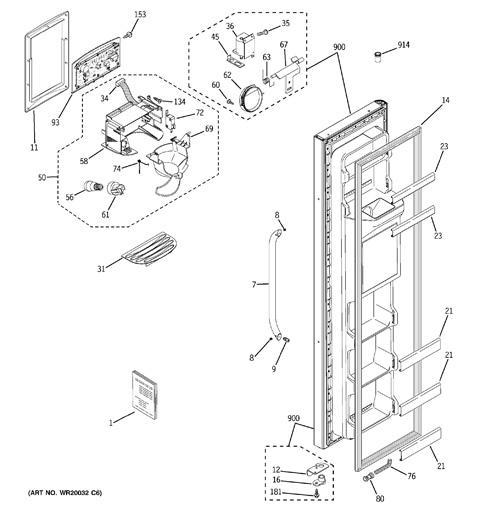 Ge Refrigerator Schematic Electrical