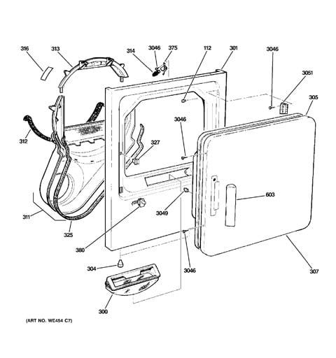 Gas Dryer Wiring Diagram Likewise Ge Dryer Wiring Diagram On Dryer