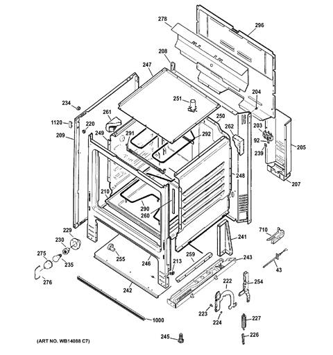 diagram 3 wire range cord