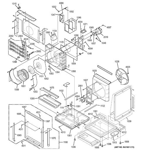 Model Search   AZ85E18DACM1   Ge Zoneline Wiring Diagram      GE Appliances Parts and Accessories
