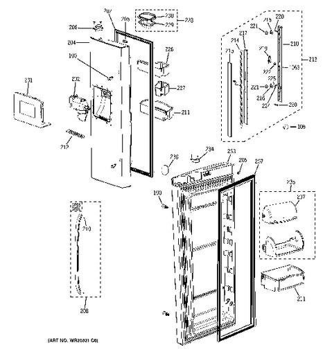 Ge Refrigerator Wiring Diagram Tbx23zh. . Wiring Diagram on