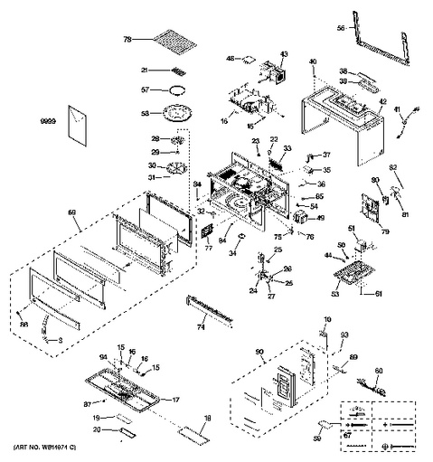 Model Search | JVM1740SP1SS