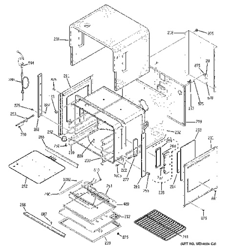Hotpoint Ga Range Wiring Diagram