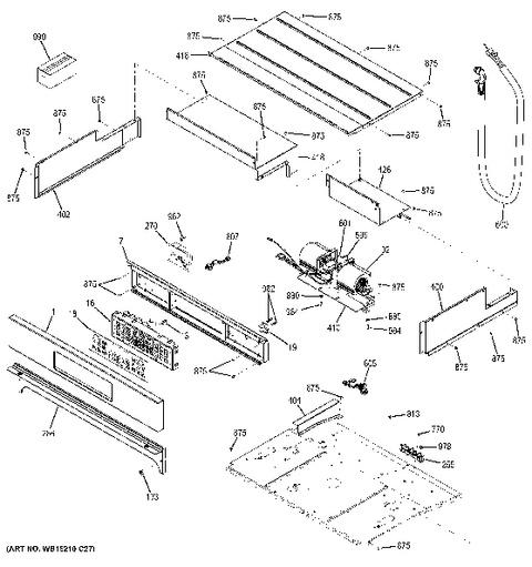 B1809906 Circuit Board Schematic