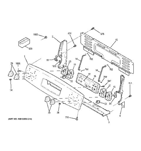 Dacor Gas Stove Electrical Diagram