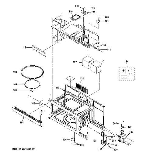 Oven Cavity Parts